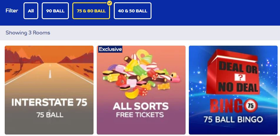 bingo games 75 ball
