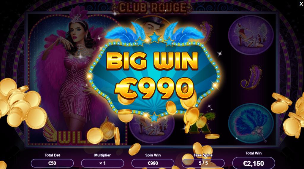 Club Rogue Online Slot Big Win