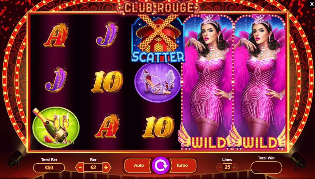 Club Rogue Online Slot Gameplay