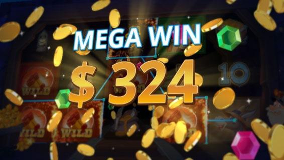 Gold Rush Slot Win