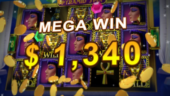 pyramid spin online slot win