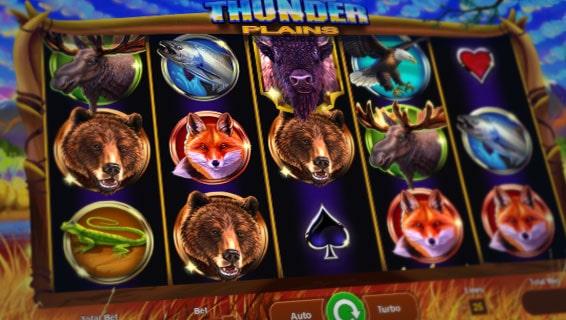 Thunder Plains Slot gameplay