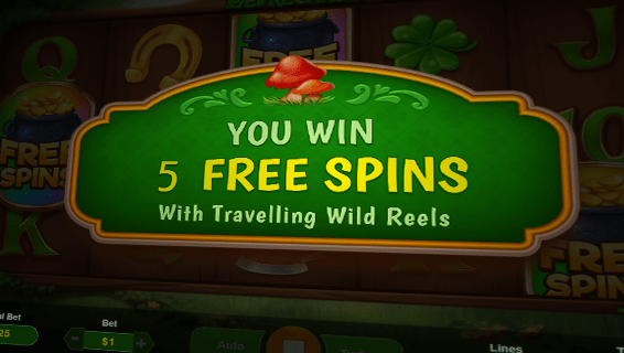 Wild Leprechaun Slot 5 Free Spins Bonus