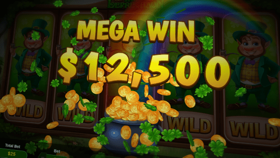 Wild Leprechaun Slot Mega Win