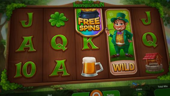 Wild Leprechaun Slot Free Spins