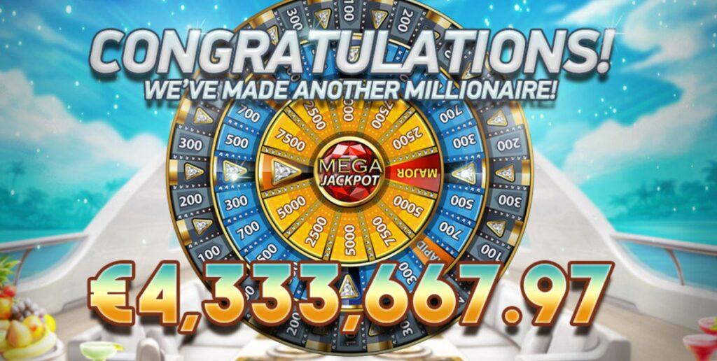 Mega Fortune Jackpot Millionaire