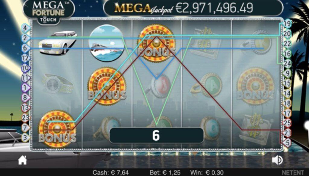Mega Fortune Slot Jackpot Win