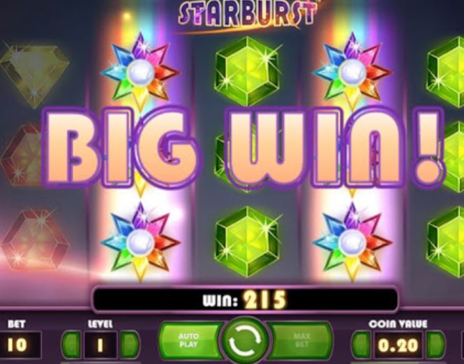 Starburst Slot Big Win