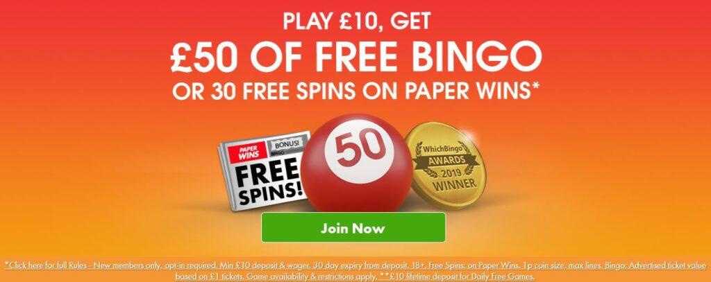 bingo bonus 90 ball