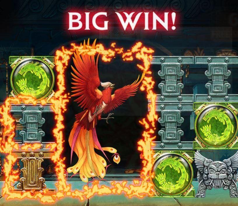Secrets of the Phoenix Return to Player - Big Win