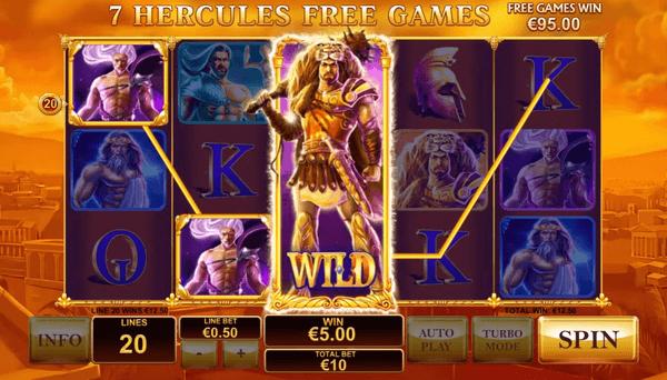 Age of Gods WILD Win Hercules