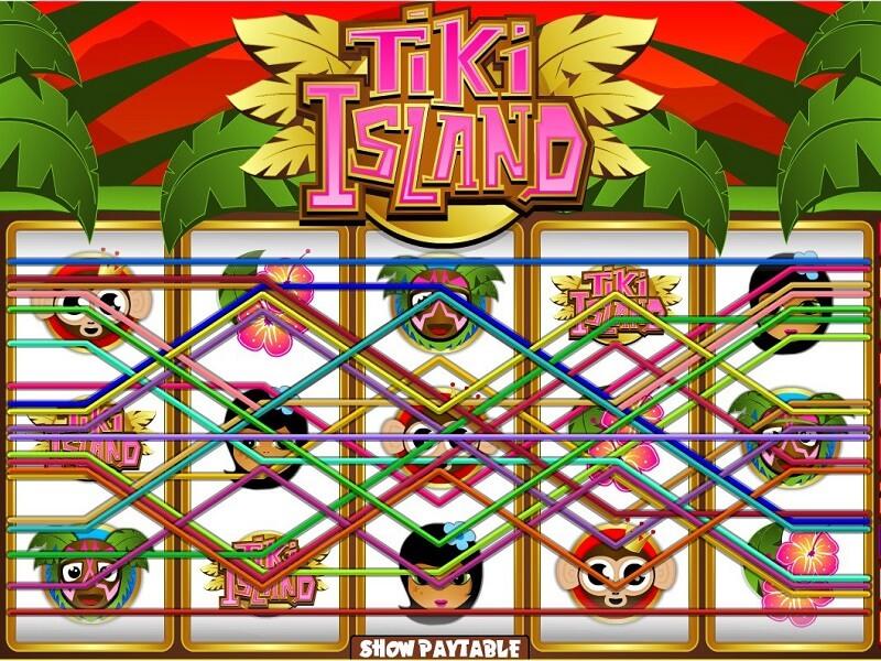 Tiki Island Slot Jackpot Progressive Win