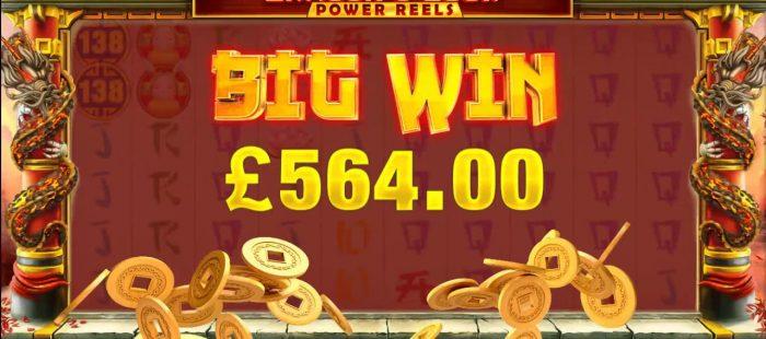 Dragon's Luck BIG WIN UK Slot Game