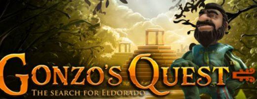 gonzos quest slot game logo